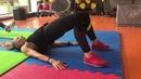 Упражнение - Ягодичный мостик.