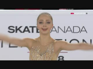 Skate Canada 2018. Pairs - FS. Aleksandra BOIKOVA / Dmitrii KOZLOVSKII