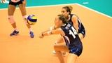 Лучшие моменты (Доминиканская республика - Италия) ЛИГА НАЦИЙ 2018 Женский волейбол