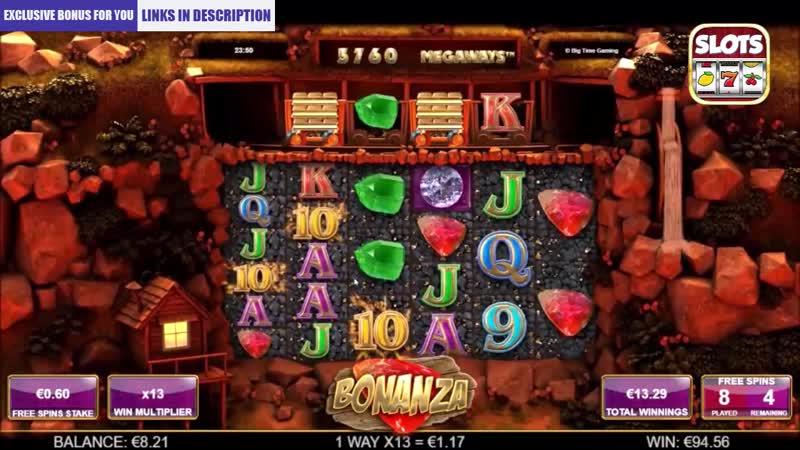 BIG WIN BONUS GAME BONANZA MIN GAMBLING
