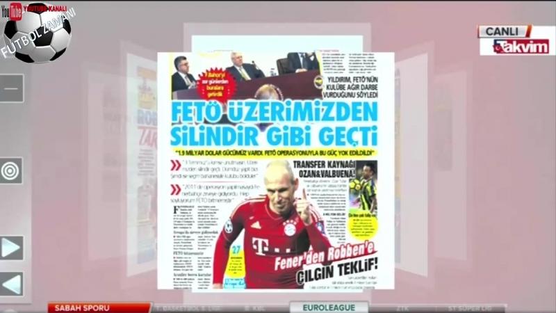 Fenerbahçeden Robbene çılgın teklif