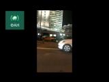 Дорогое ДТП на Арбате Lamborghini в ходе уличной гонки протаранила Bentley и Gelandewagen