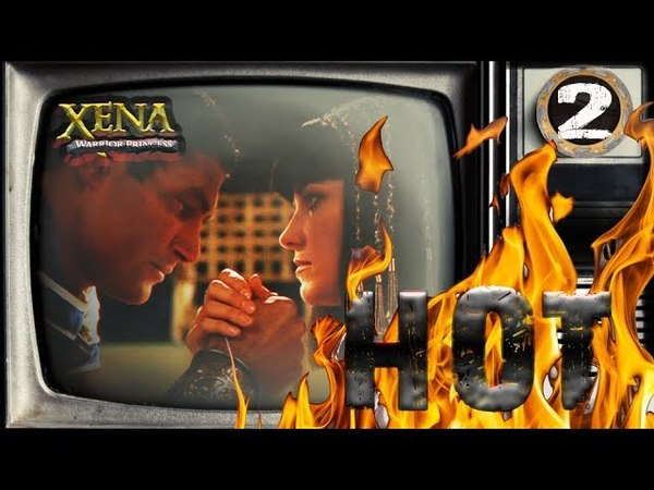Xena: Warrior Princess - Cleopatra Seducing Mark Antony (Lucy Lawless and Manu Bennett) 2