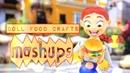 Mash Ups Doll Food Crafts Paper Crafts Hamburger Watermelon Edible Cakes and More