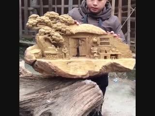 Восхитительная резьба по дереву! - vk.com/my.dacha