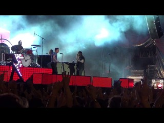 The Killers - Runaways - live at Park Live Moscow 29.06.2013