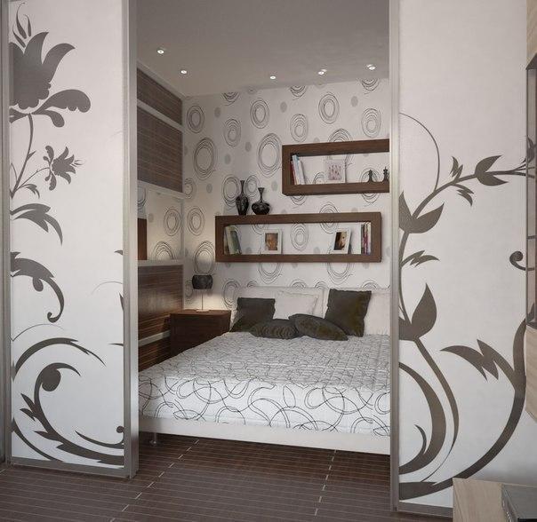 Зонирование спальни #DIY_Идеи