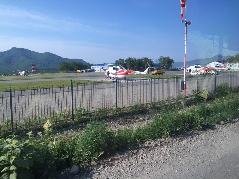 Вертолетная экскурсия. Вертодром