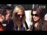 Fashion Week People - INSIDE: Ellie Goulding and Samantha Barks