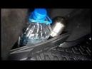 Установка бортиков вещевых отсеков багажника Lada Vesta