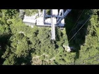 Скайпарк. Прыжок с высоты 69 метров