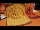 Объемные открытки Киригами Бумажный торт