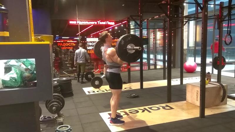 Ответка бойцу команды Vortex Юрия Спасокукоцкого. Толчок 100 кг