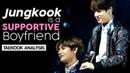 Jungkook é um namorado cuidadoso ❤ [TAEKOOK - VKOOK]
