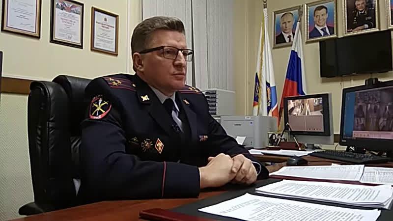 пресс-конференция начальника УМВД по Выборгскому району Э.Вашкиса
