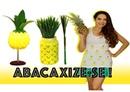 ABACAXIZE-SE!🍍DIY Luiminária, Camisa e Porta lápis - Paula Stephânia