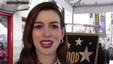 OSCAR WINNING ACTRESS ANNE HATHAWAY HONORED WITH HOLLYWOOD WALK OF FAME STAR