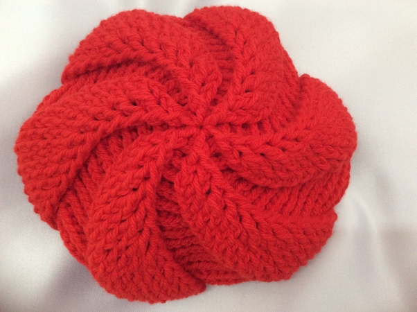 Crochet beret hat part 1 round 1 4 Móc mũ nồi phần 1 vòng 1 4