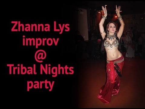 Zhanna Lys, tribal fusion improv (Slingers Song) @ Tribal Nights Dark Side