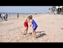 Womens Beach Wrestling HELEN MAROULIS Vs MARWA AMRI