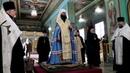 В Казанском соборе Волгограда отслужили благодарственный молебен о прибытии митрополита Феодора.