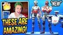 NINJA REACTS TO *NEW* FIELD SURGEON TRIAGE TROOPER SKINS HELICOPTER GLIDER Fortnite Moments