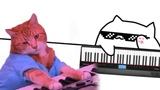 when bongo cat only knows 4 notes but gotta set the club on fire