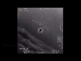Пентагон опубликовал видео перехвата НЛО