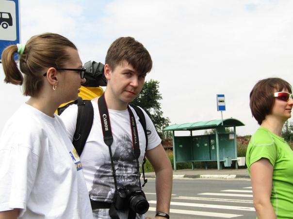 Только выгрузились из автобуса и продолжаем знакомиться  © Наталья Кислякова (Кокряцкая) https://vk.com/id132237402