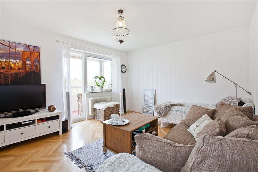 Интерьер небольшой квартиры-студии 34 м.