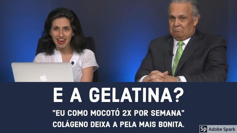 Gelatina faz Bem - Colágeno deixa a pele mais bonita - MOCOTÓ   Dr Lair Ribeiro