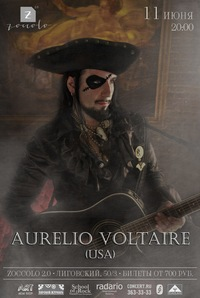 Aurelio Voltaire (USA) - Zoccolo 2.0 - 11.06.14