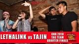 Lethalink vs Tajin GNB 2018 Tag Team - Quarter Finals