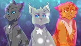 Коты-воителиWarriors cats - ТроицаTrinity - My Demons
