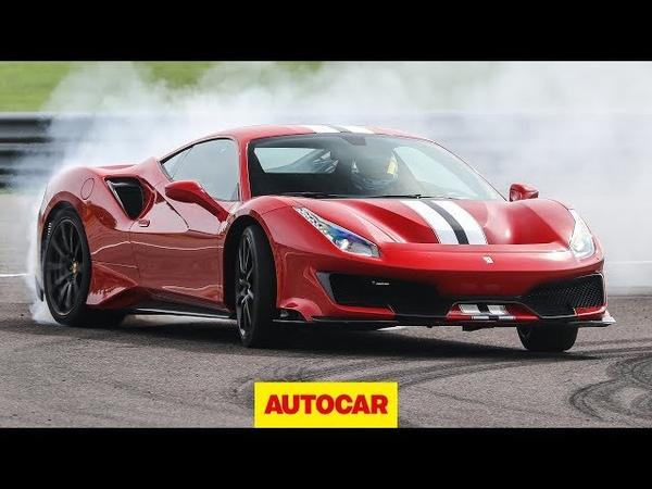 Ferrari 488 Pista 2019 review 710bhp supercar on road and track Autocar