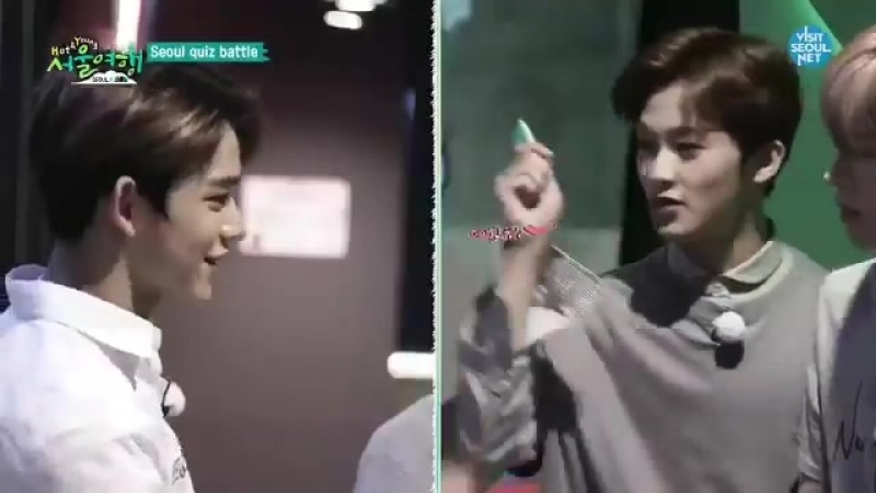 Lucas and winwin got no pocket money bc they lose, since mark had many he handed them two envelopes so theyll have pocket money.