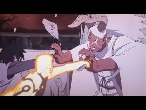 Наруто, Саске и Боруто против Момошики и Киншики!! часть 2