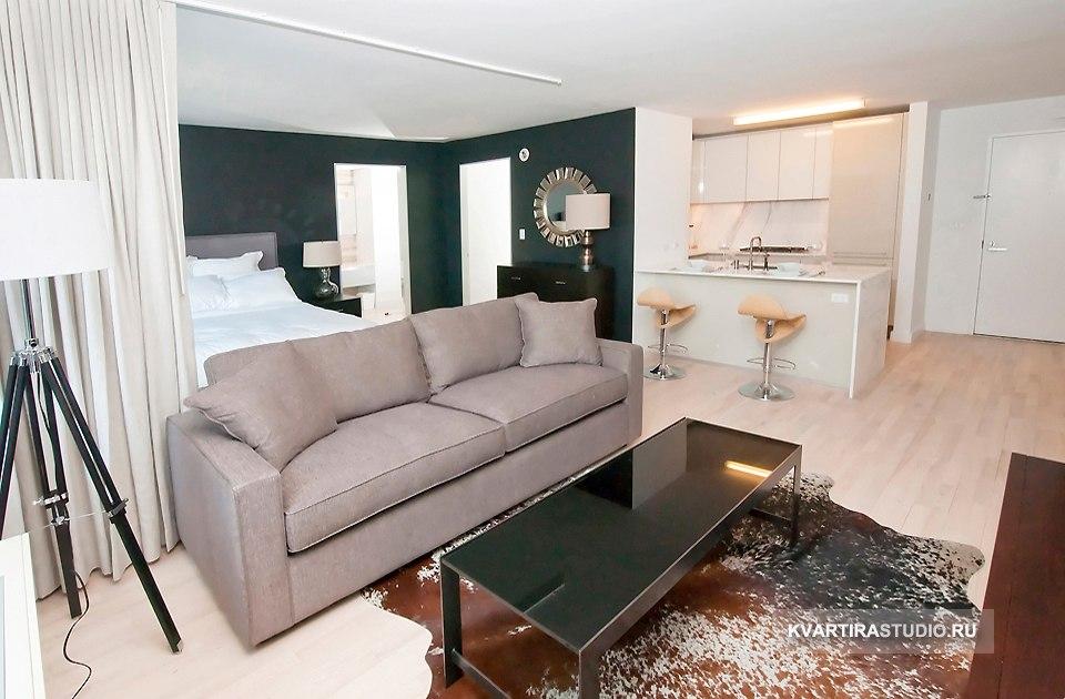Интерьер квартиры 55 м в стиле арт-деко в Нью-Йорке / США - http://kvartirastudio.