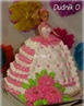 ТОРТ КУКЛА БАРБИ Кремовые торты Barbie Doll Cake Cream cake