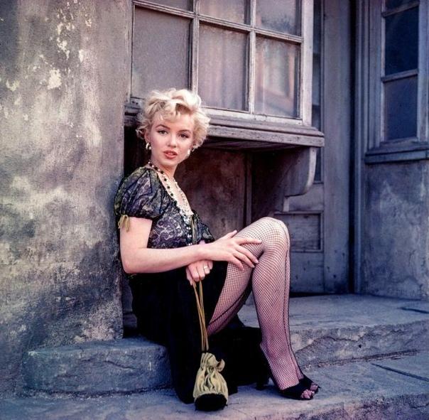 Фотосессия с Мэрилин Монро, 1956 год.