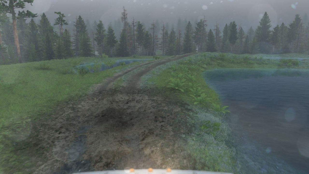Карта «Open pit mine» для 03.03.16 для Spintires - Скриншот 2