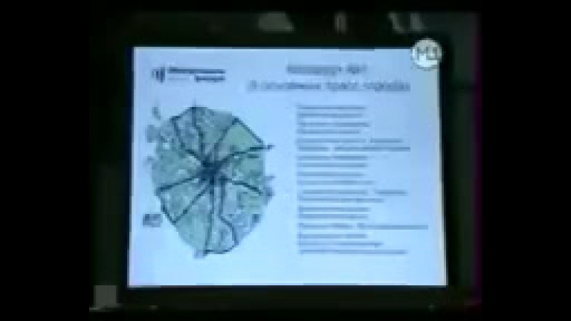 Передача Наши в городе - МегаФон качество от 20.10.2004.Канал М1