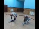 Танцевальная школа Принцесса Тренировка шоу группы Dancing