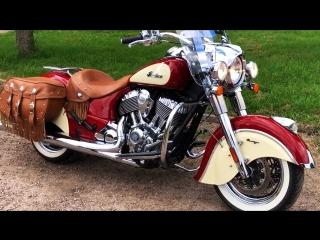 Мотоцикл indian chief vintage, 2015 года