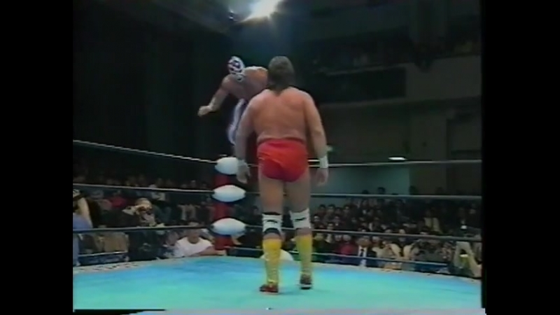 1993.02.19 - Steve Williams/Terry Gordy vs. The Eagle/The Patriot [JIP]