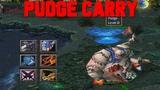 DOTA PUDGE CARRY - BEYOND GODLIKE (LOOOOL)