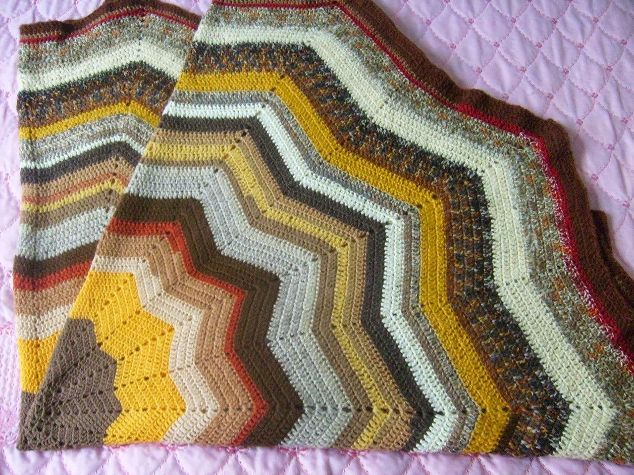 Вязание ковриков звезда