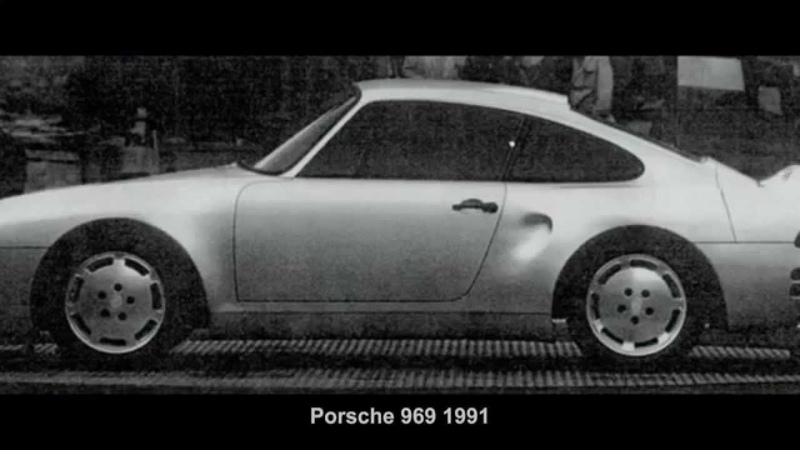 2728. Porsche 969 1991 (Prototype Car)