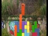 Tetris, but when he jumps it turns to earrape