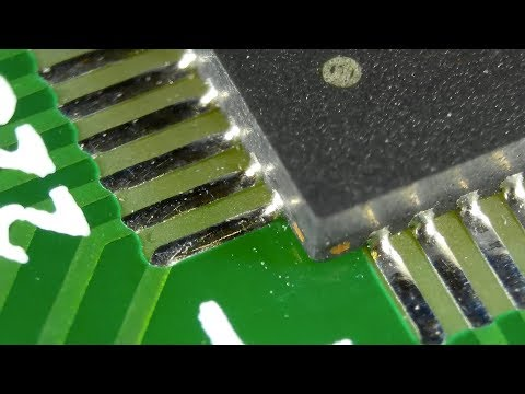 SMD Soldering QFN Package